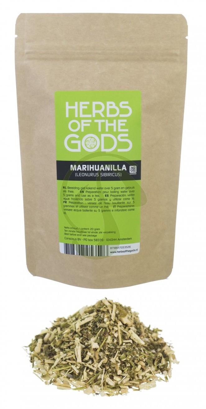 Marihuanilla (Leonurus sibiricus) hierbas molidas